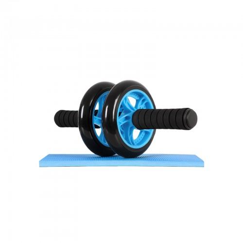 SONGMICS AB Roller AB Wheel Rueda para Flexiones Entrenamientos de Abdominals Push Up con Coj/ín del Arrodillamiento