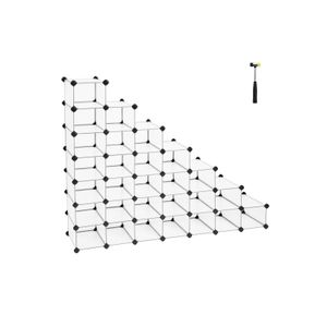 Organizador De Almacenamiento Con 32 Cubos