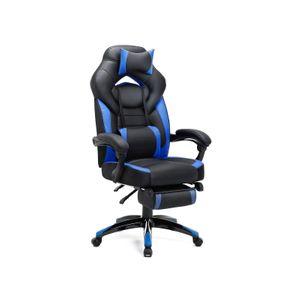 Silla Gaming Negra Azul