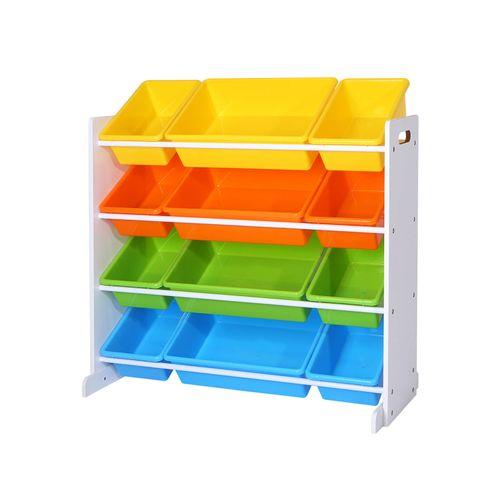 Caja de Juguetes de 4 Colores