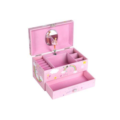 Joyero Infantil Rosa