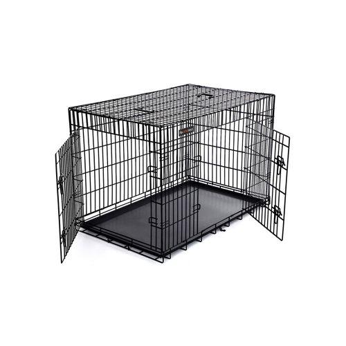 Jaula Plegable de Metal para Cachorros