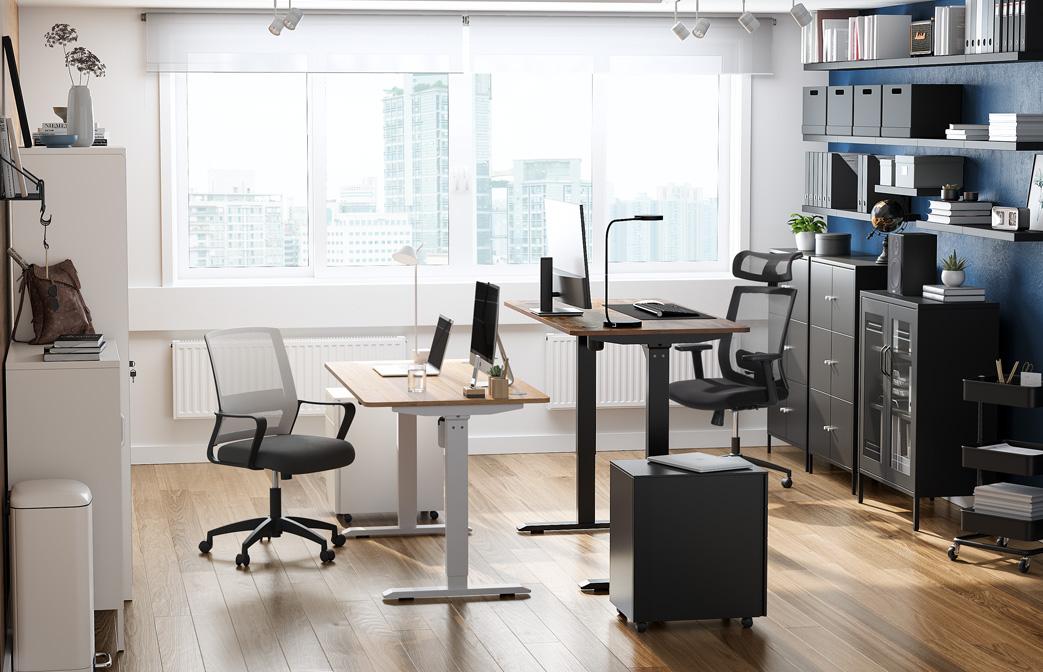 Un espacio de trabajo compartido para dos